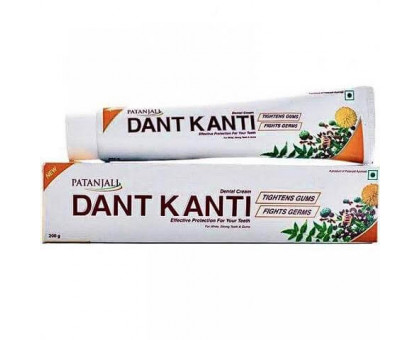 Зубная паста Dent Kanti Patanjali - 100 гр.